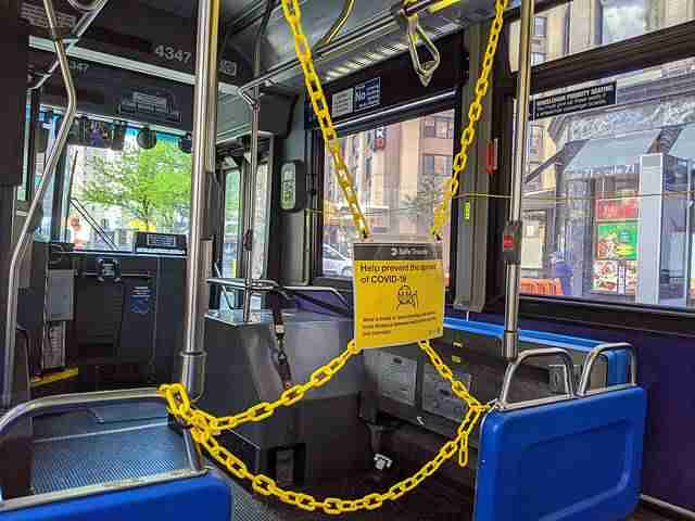 NYC Bus Social Distance