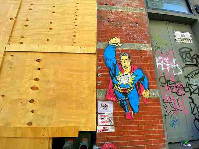 Wall Art Lower East Side NYC (3)