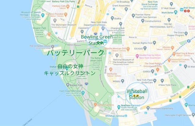 Battery Park Map