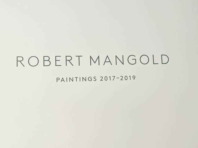 Pace Gallery Mangold (1)