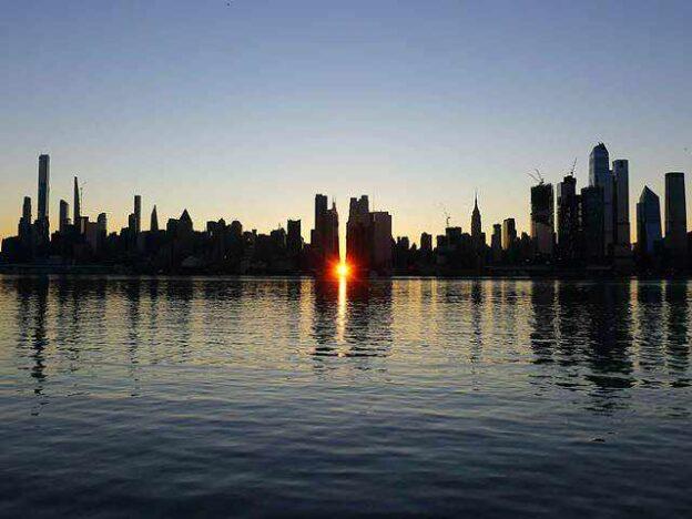 Manhattanhenge Sunrise (4)