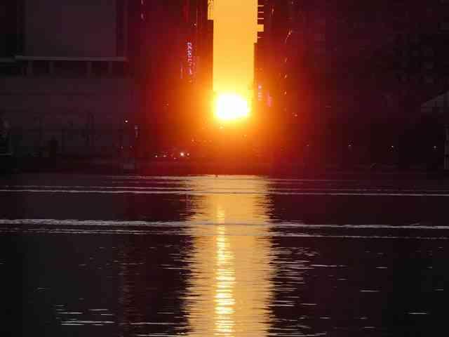 Manhattanhenge Sunrise (8)