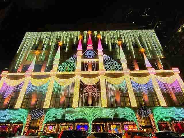 Saks Fifth Avenue Holiday Windows (1)