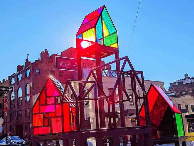 Tom Fruin Stained Glass House (6)