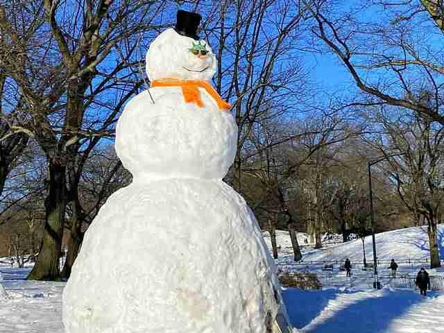 Central Park Snow Art (10)
