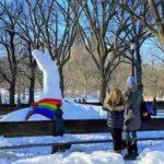 Central Park Snow Art (3)