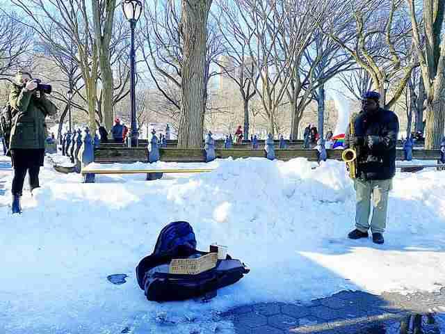 Central Park Snow Art (4)