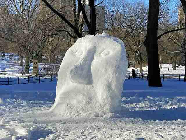 Central Park Snow Art (6)