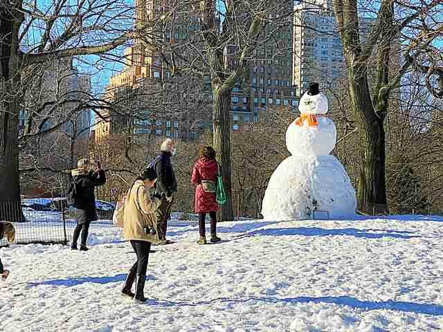 Central Park Snow Art (9)