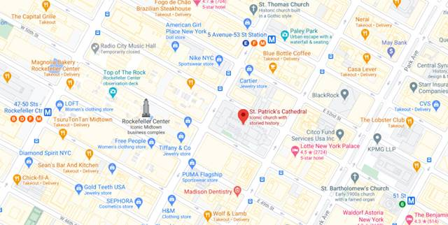 St. Patrick's Cathedral MAP