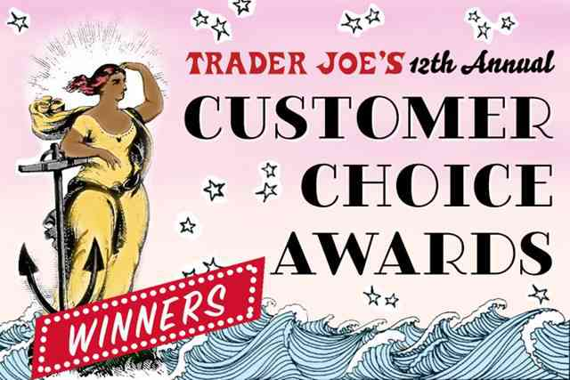 Trader Joe's Customer Choice Awards