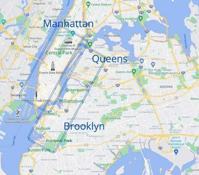 NYC Safety Area Map
