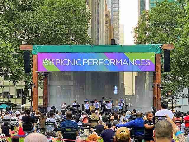 Bryant Park Picnic Performances (4)