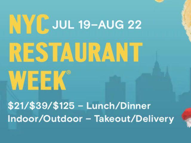 NYC Restaurant Week 2021
